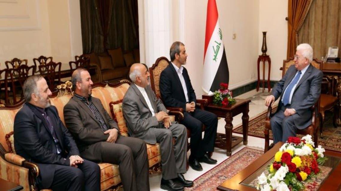 فؤاد معصوم والسفير الإيراني