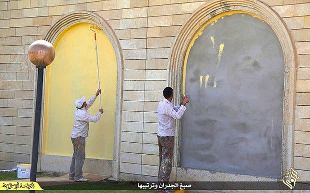 ISIS ninawa hotel