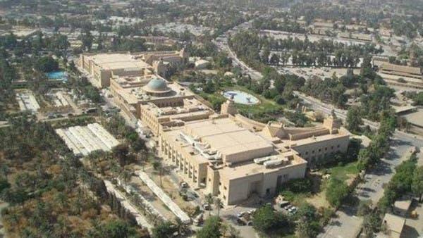 عصائب أهل الحق تنفي قصف السفارة الأميركية في بغداد