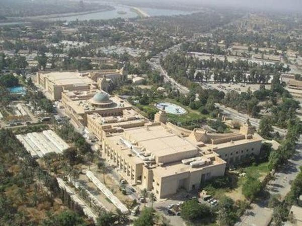 العراق.. سقوط قذائف قرب سفارة أميركا بالمنطقة الخضراء
