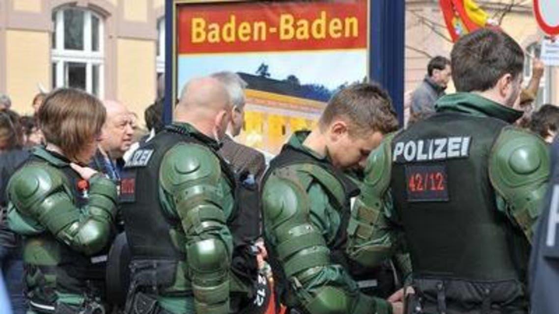 عناصر شرطة ألمان