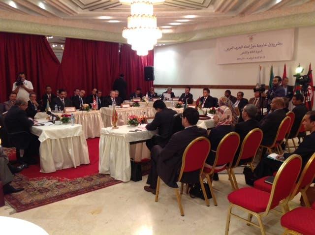 من المفاوضات الليبية في المغرب