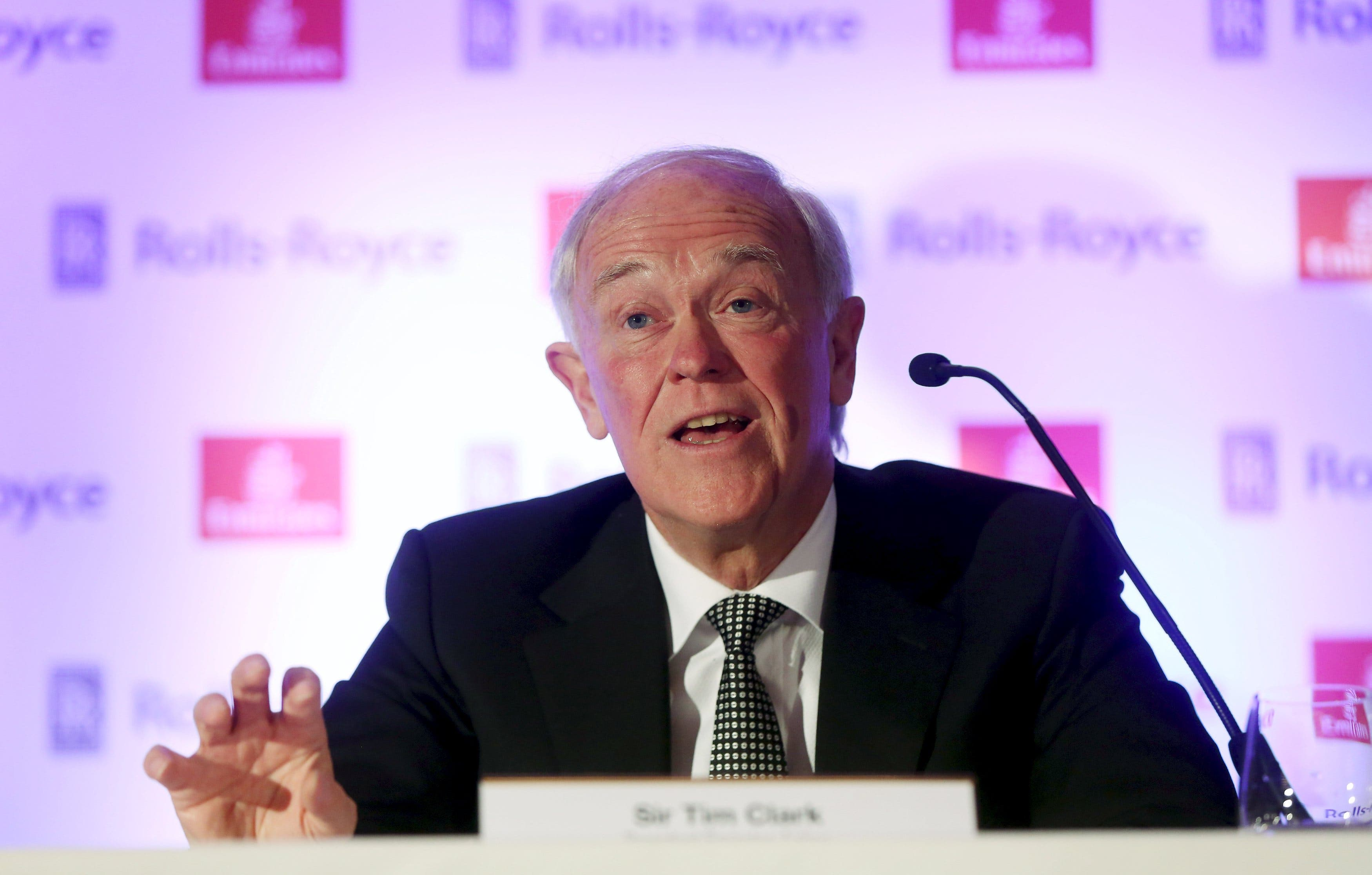 File photo of Emirates president Tim Clark. (Reuters)