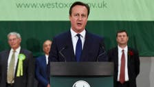 British PM Cameron hails 'strong' conservative UK election