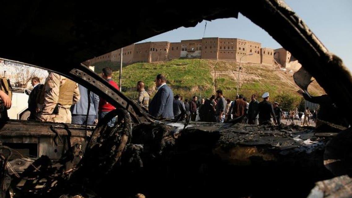 تفجيرات في كردستان العراق