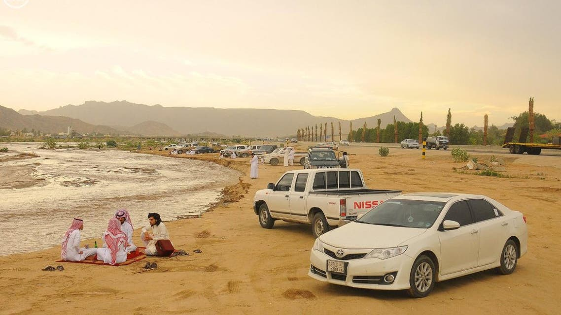 Saudi-state media show pictures of 'normal life' in Najran