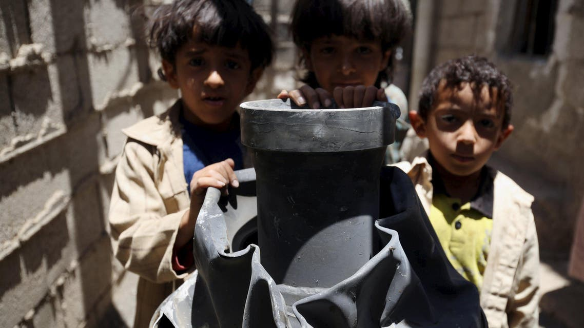 Yemen children sanaa Reuters