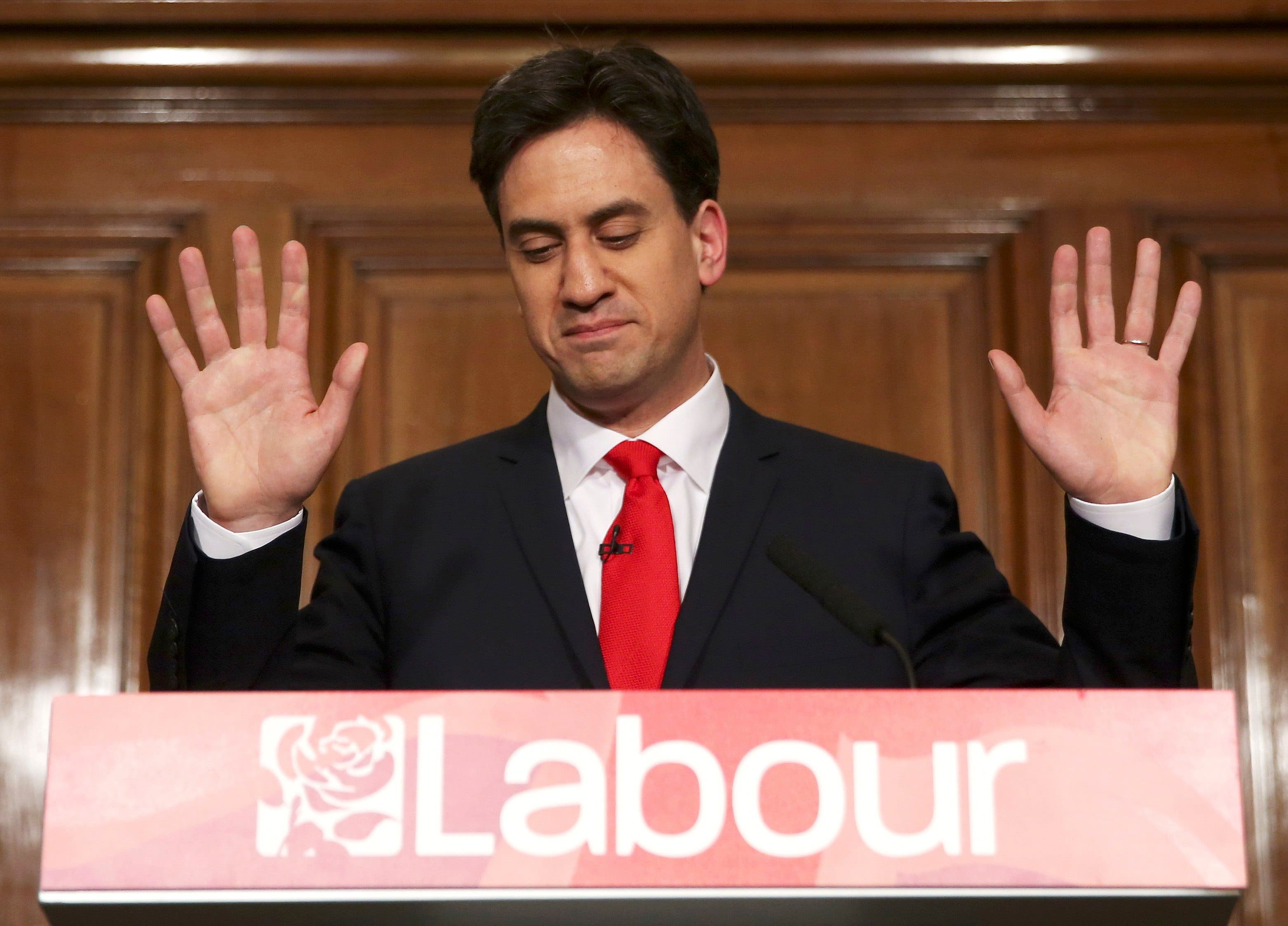 Ed Miliband MP resigns as leader of the Labour Party (Reuters)