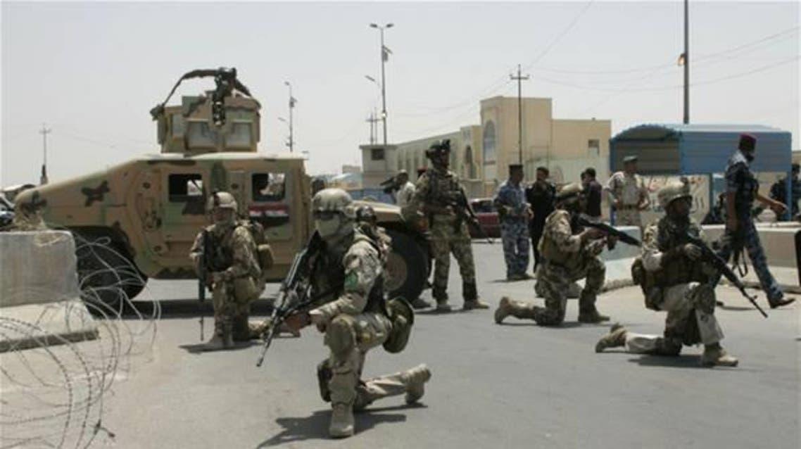 الجيش العراقي في الفلوجة