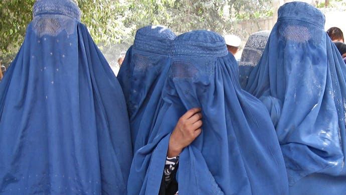 Afghan women - AFP