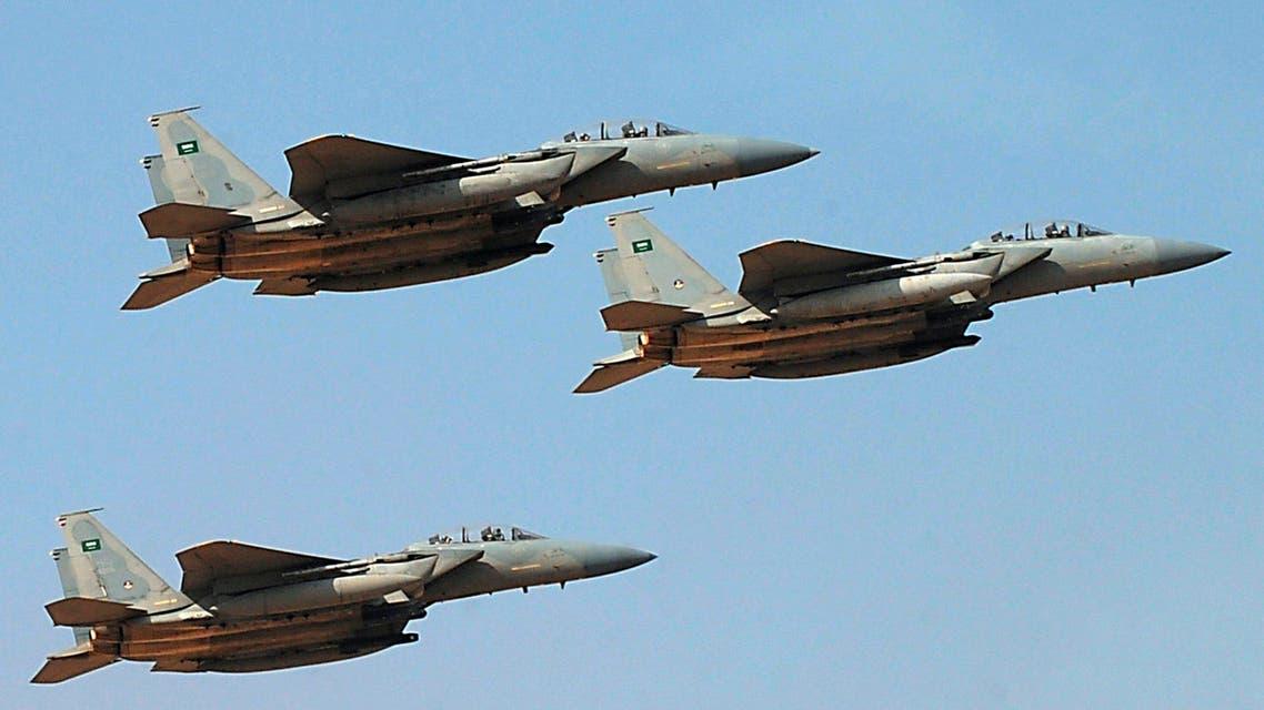 Saudi jets - AFP