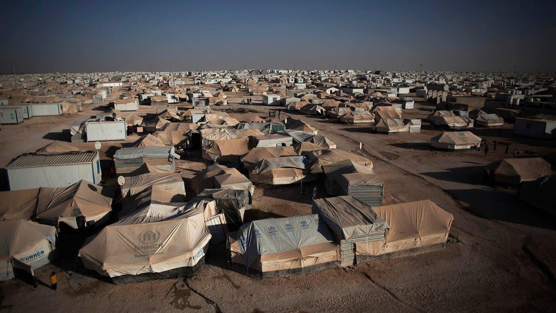 zaatari camp AP