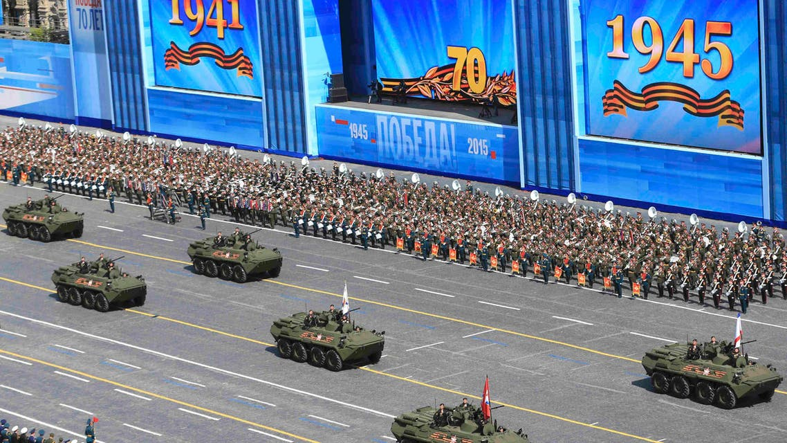 Russia marks Victory Day