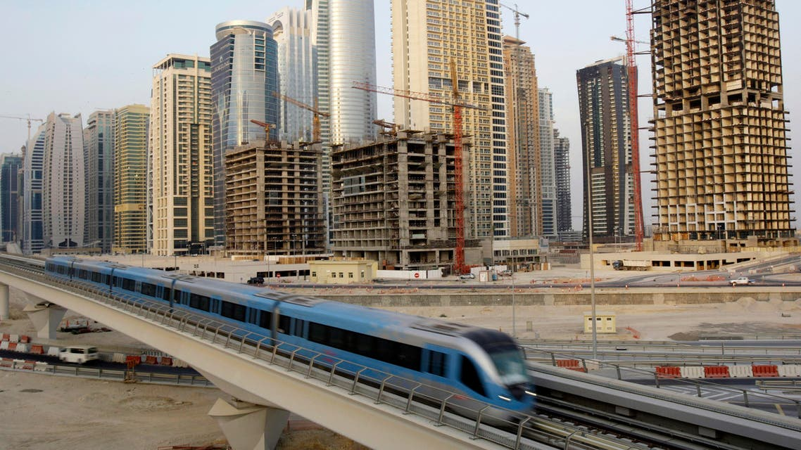 The Dubai Metro – which opened in 2009 – is set to be extended to the site of the upcoming Expo 2020 event. (AP)