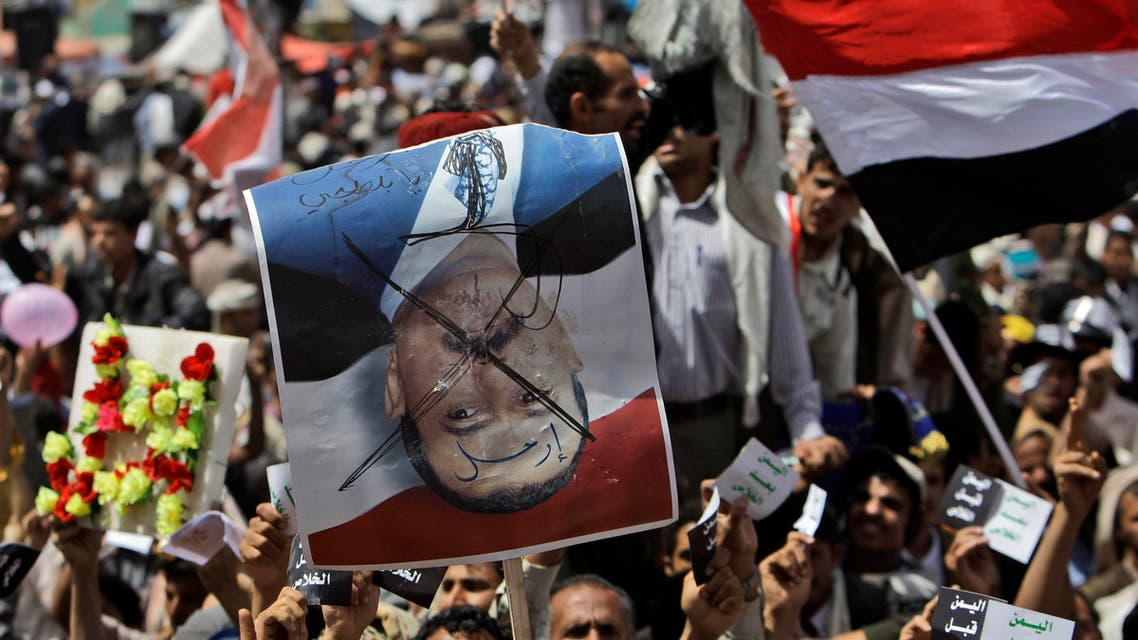 Yemen - Saleh AFP