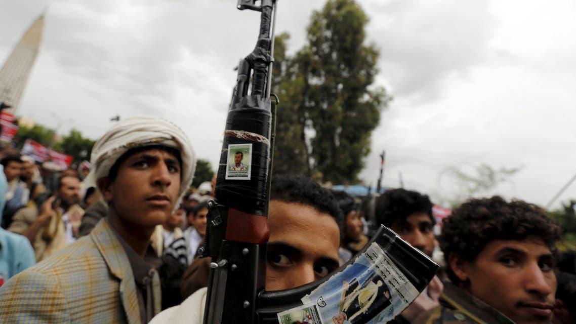 عناصر تابعة لميليشيلت الحوثي