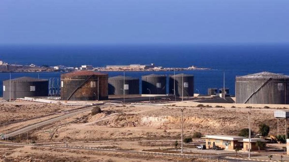 ميناء الحريقة في شرق ليبيا