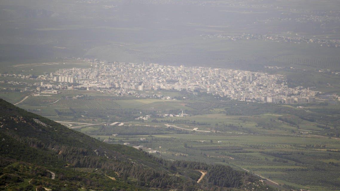 مدينة جسر الشغور - إدلب - سوريا