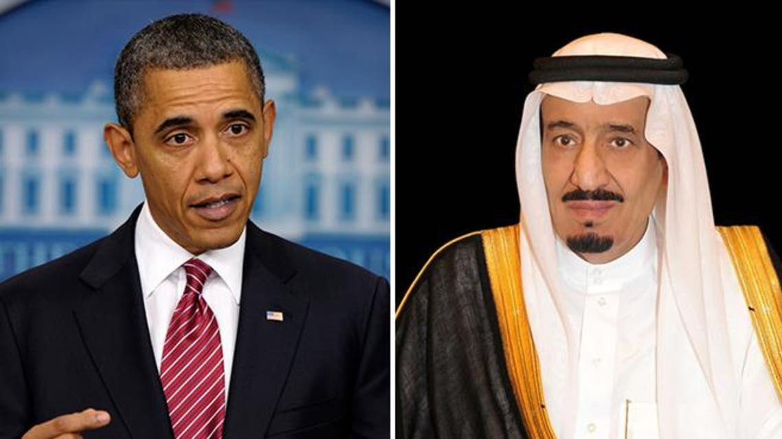 الملك سلمان - أوباما 3