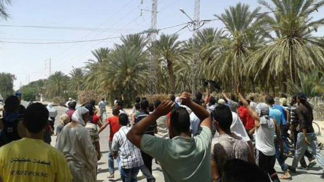 احتجاجات تونس فوسفات