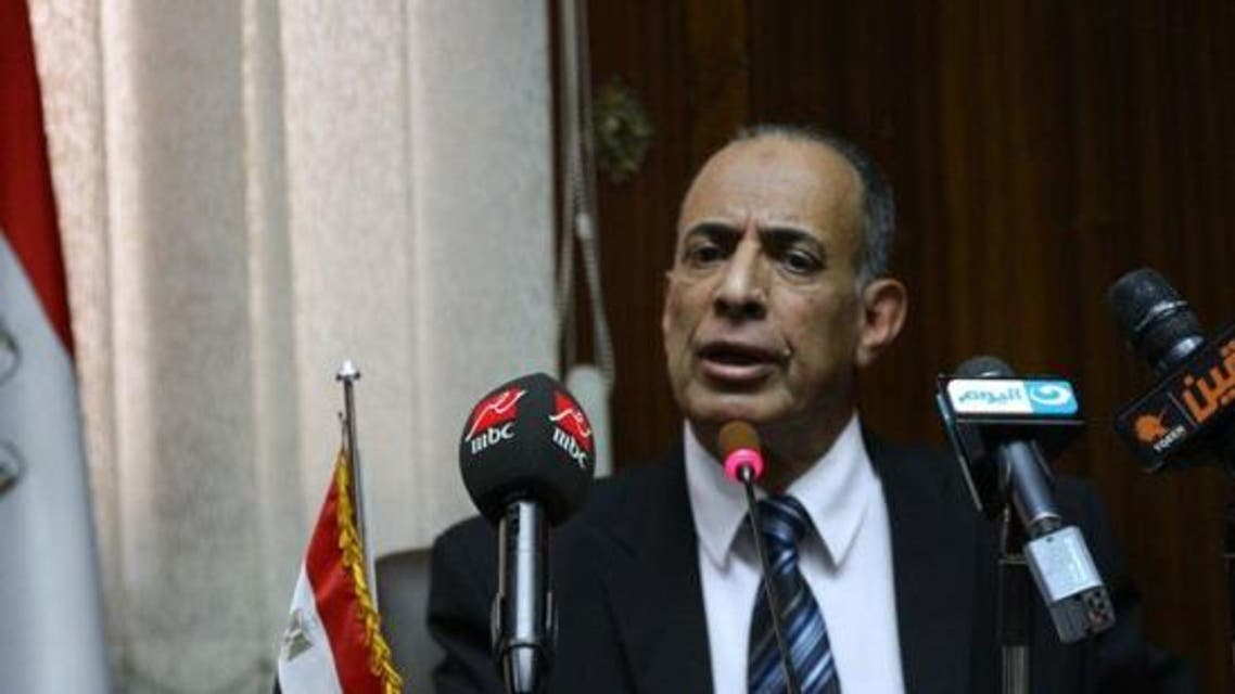 Justice Minister Mahfouz Saber came under fire following controversial remarks. (File photo courtesy: Youm7)