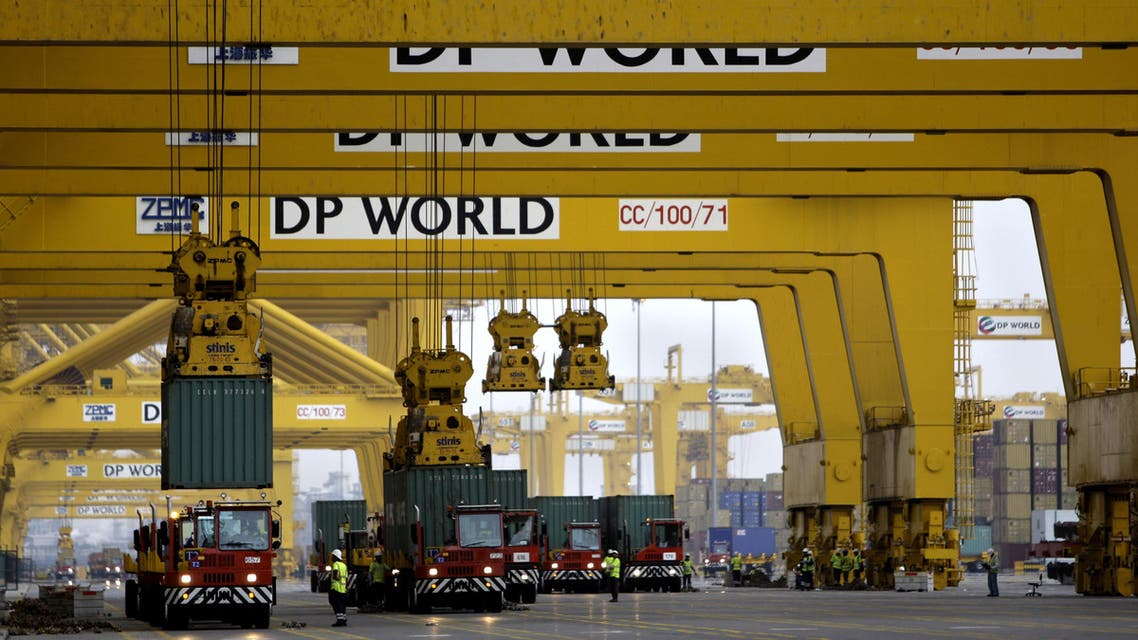 DP World has more than 65 marine terminals across six continents. (AP)