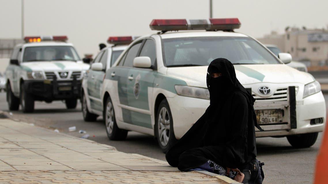 saudi woman police AP