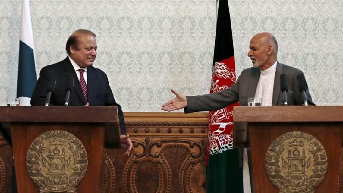 PM Nawaz and Ashraf Ghani