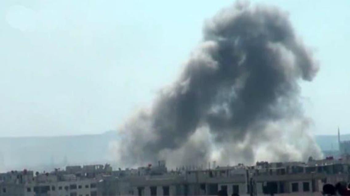 قصف الغوطة الشرقية