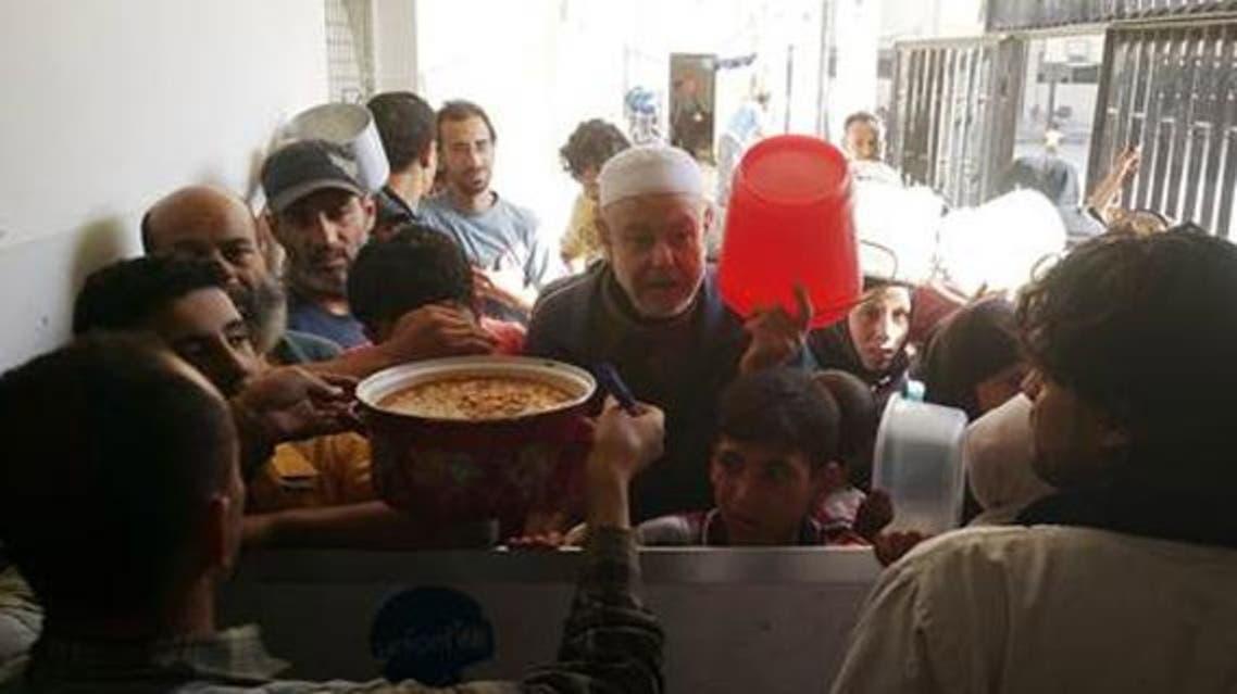 مخيم اليرموك أونروا مساعدات