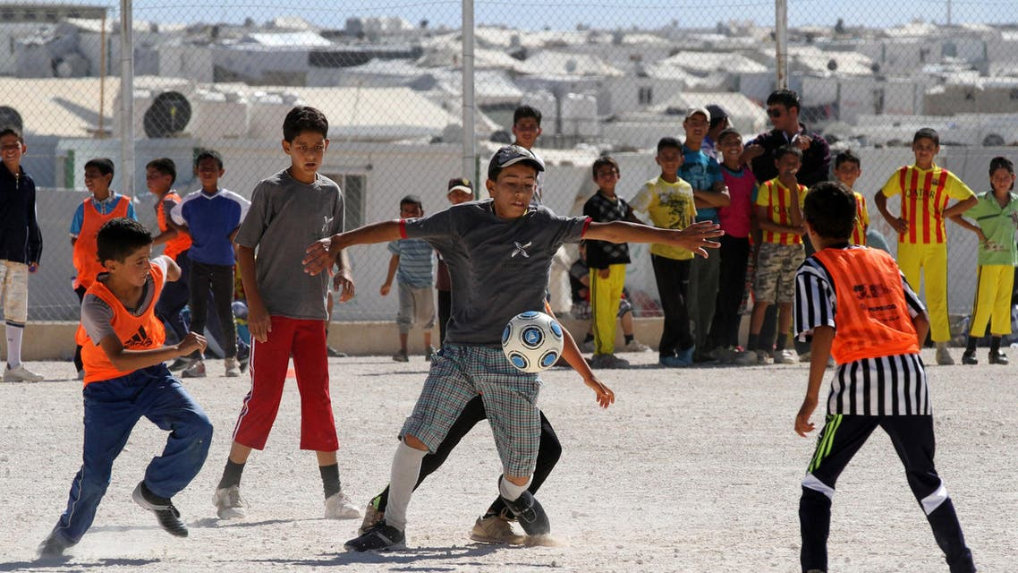 zaatari football AP