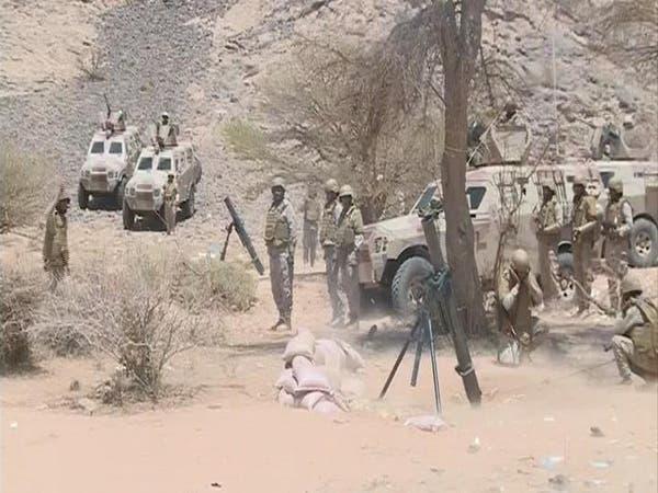 بالفيديو.. لحظة إطلاق قذائف هاون سعودية ضد الحوثيين
