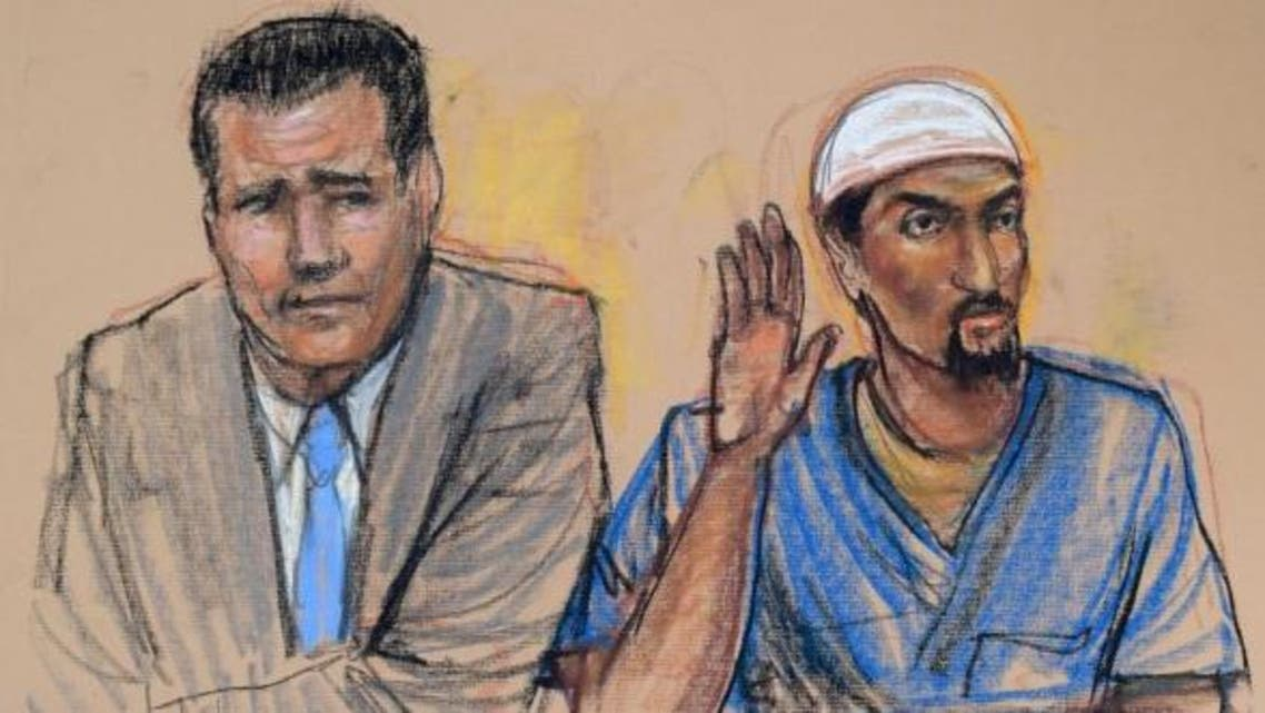 Madhi Hashi, right, is one of three men who pleaded guilty to a single count of conspiracy to provide material support to a foreign terrorist organization. (Reuters)