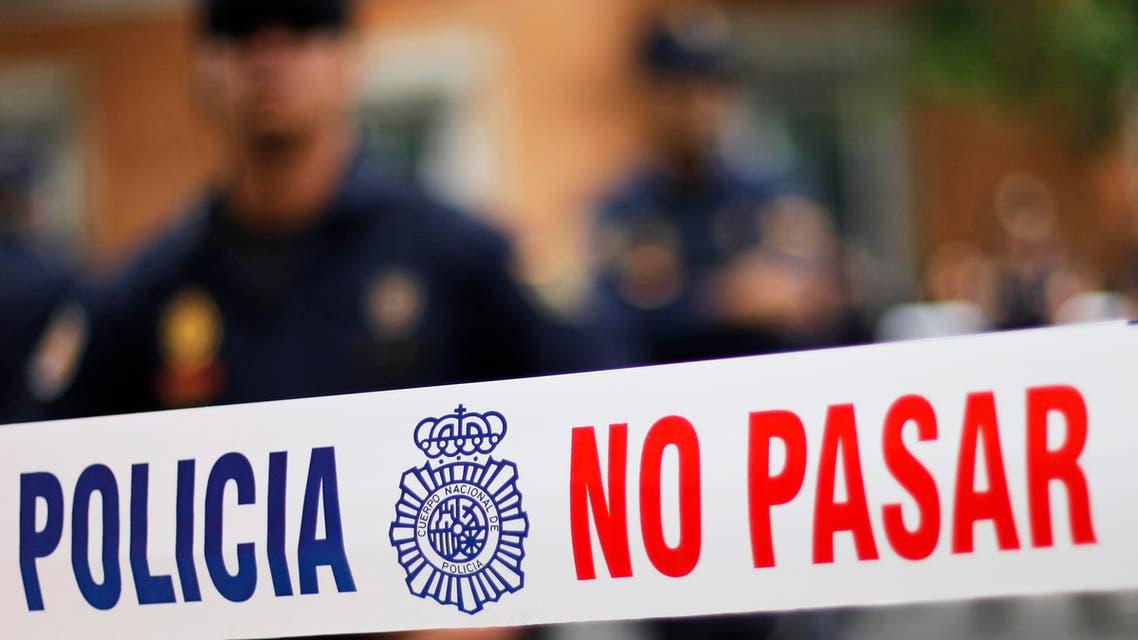 Spain police AP
