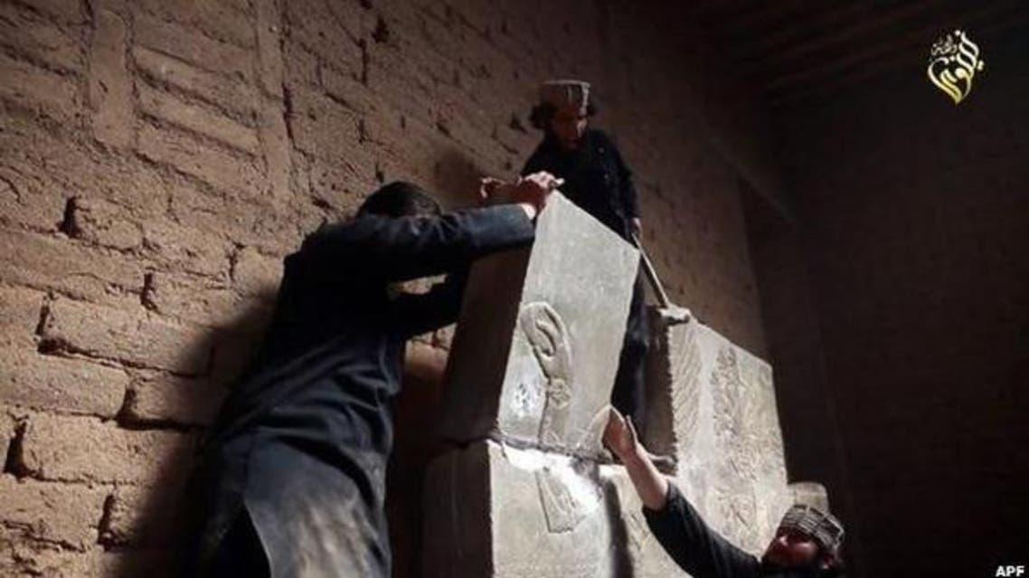 ISIS ancient ruins AFP