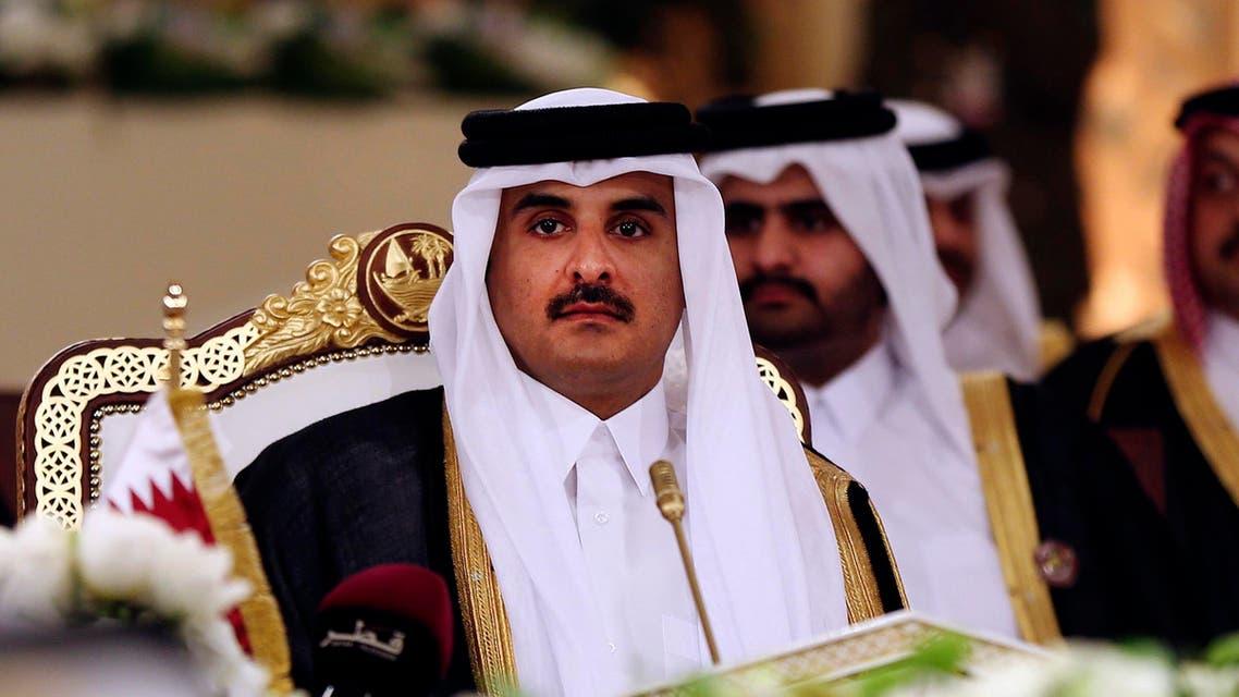 Qatar Emir - AP