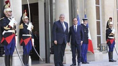 محلب وهولاند يبحثان دعم التعاون بين القاهرة وباريس