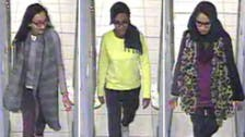 British teen girls who joined ISIS are now 'running' from the militants