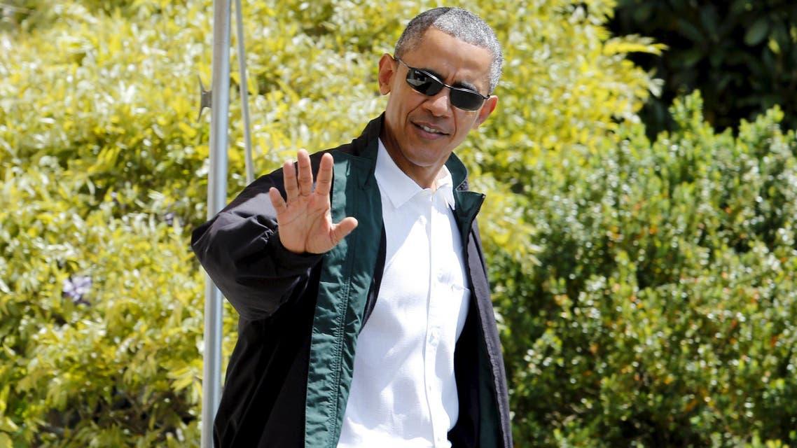 أوباما يذهب إلى كامب ديفيد