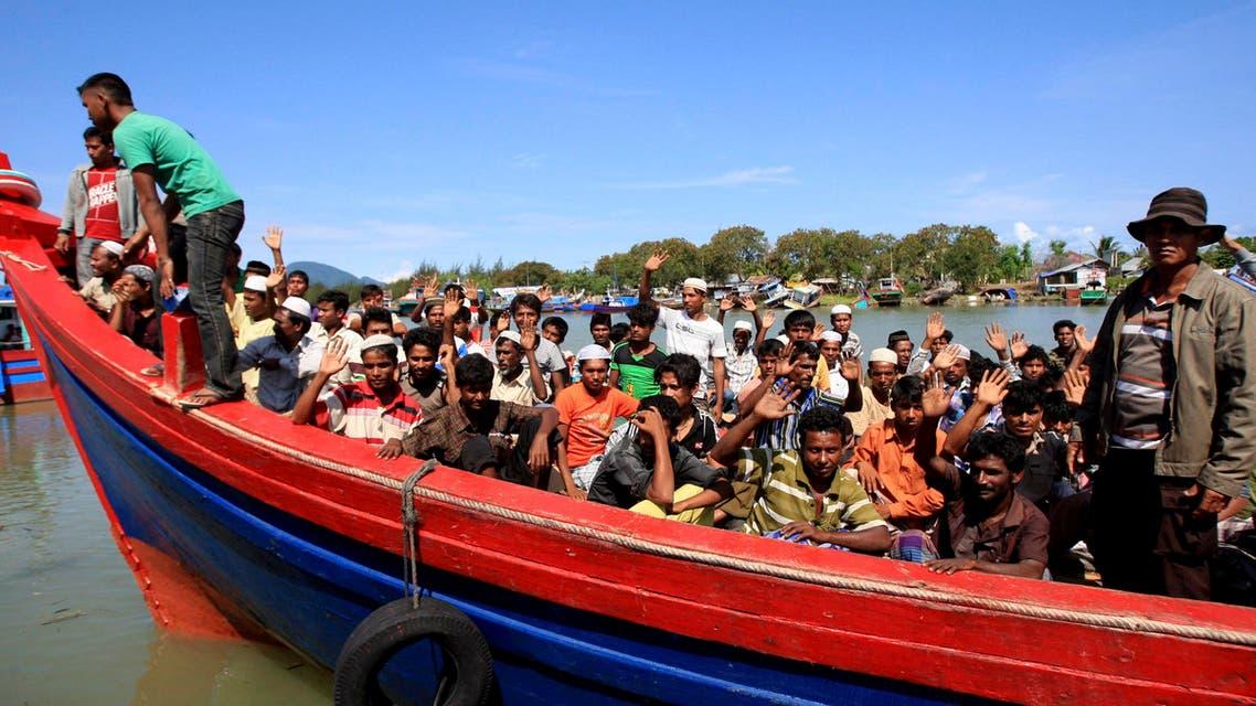 Rohingya Malaysia AP
