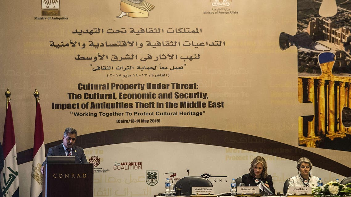 مؤتمر عن الآثار في مصر
