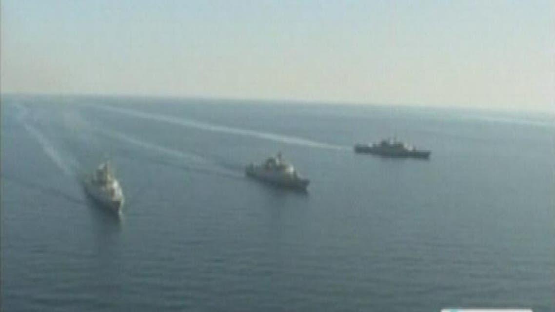 THUMBNAIL_ سفن إيرانية تهاجم سفينة شحن تحمل علم سنغافورة في الخليج