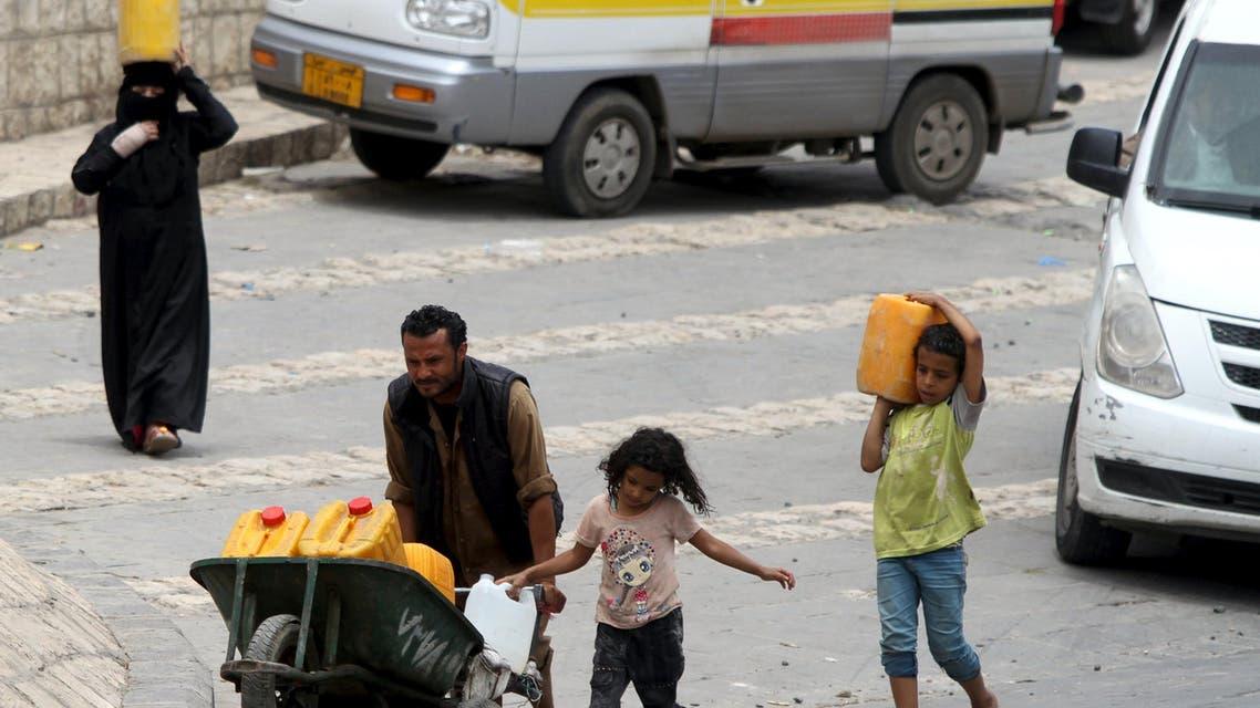 water shortage yemen reuters