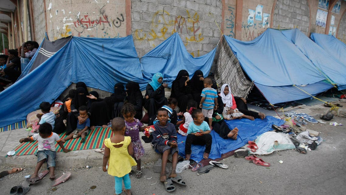 نازحون داخل اليمن