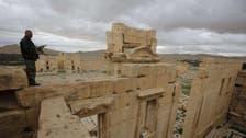 نظام الأسد يرسل تعزيزات إلى مدينة #تدمر الأثرية