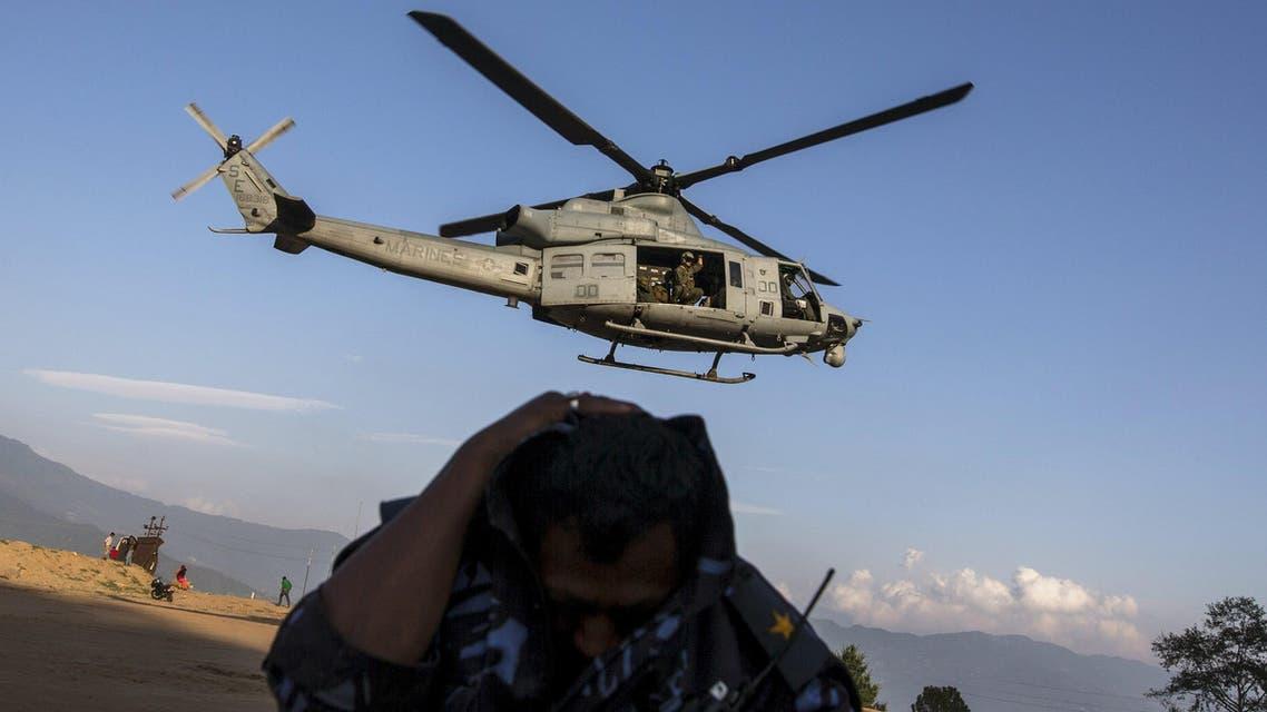 نيبال قوات أميركية