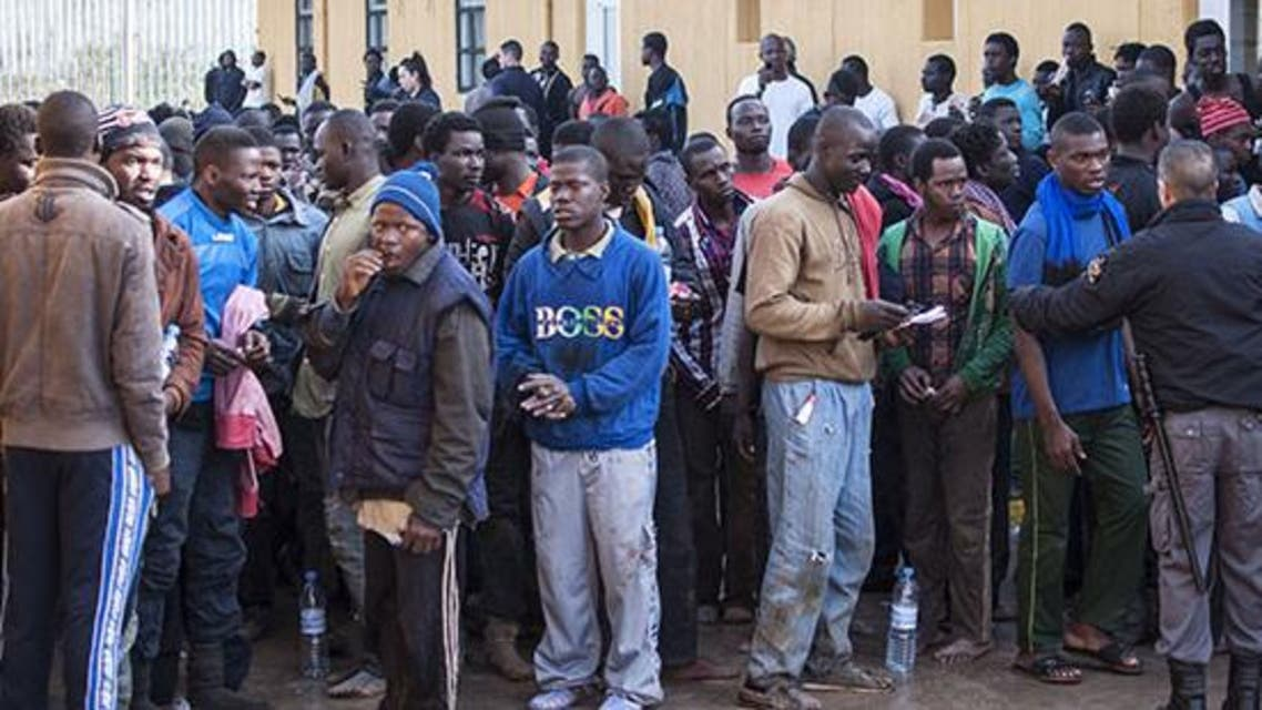 مهاجرون أفارقة