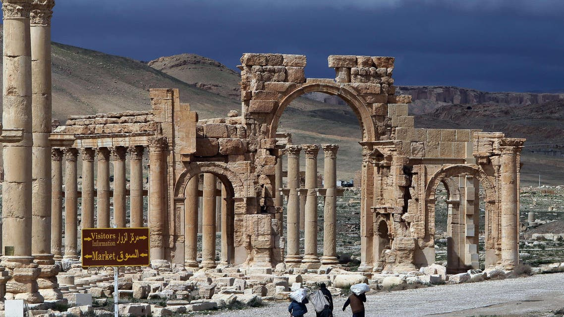 The well-preserved city of Palmyra remains one of the most important cultural centres in the ancient world, known for its unique blend of Graeco-Roman and Persian influences. (AFP)