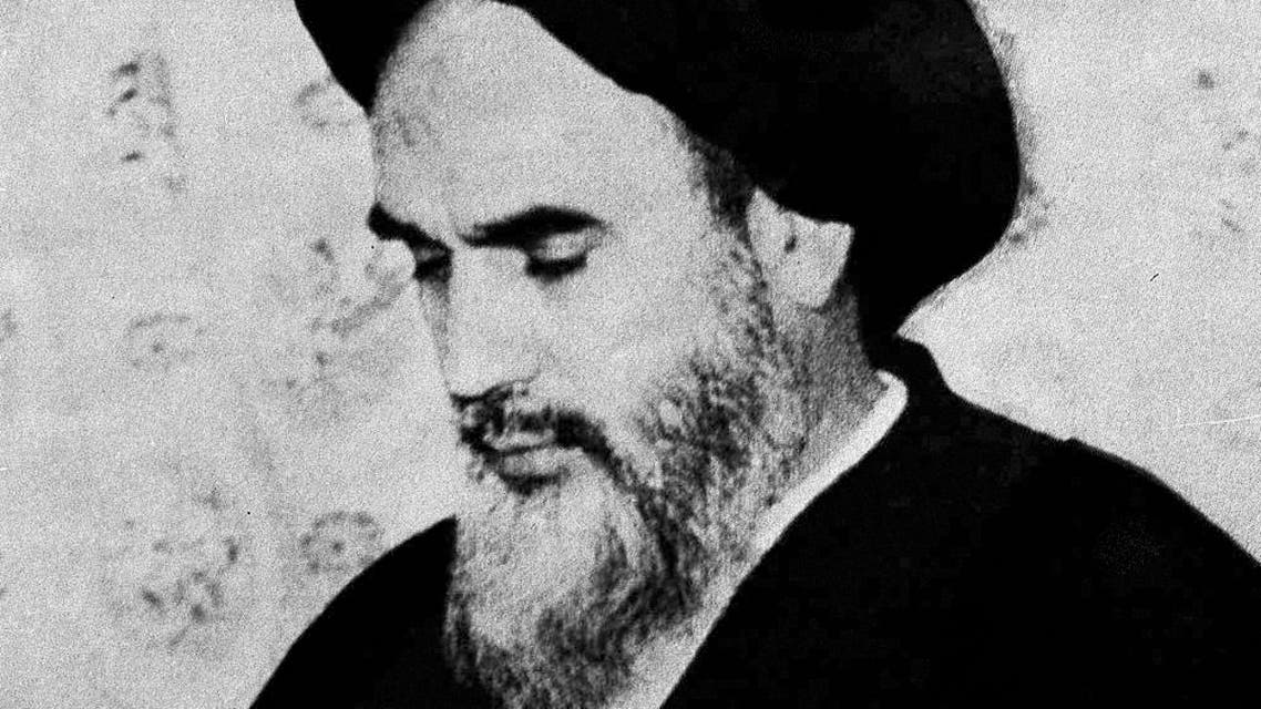Iran's Ayatollah Khomeini in a picture that dates back to June 9, 1963. (AP)