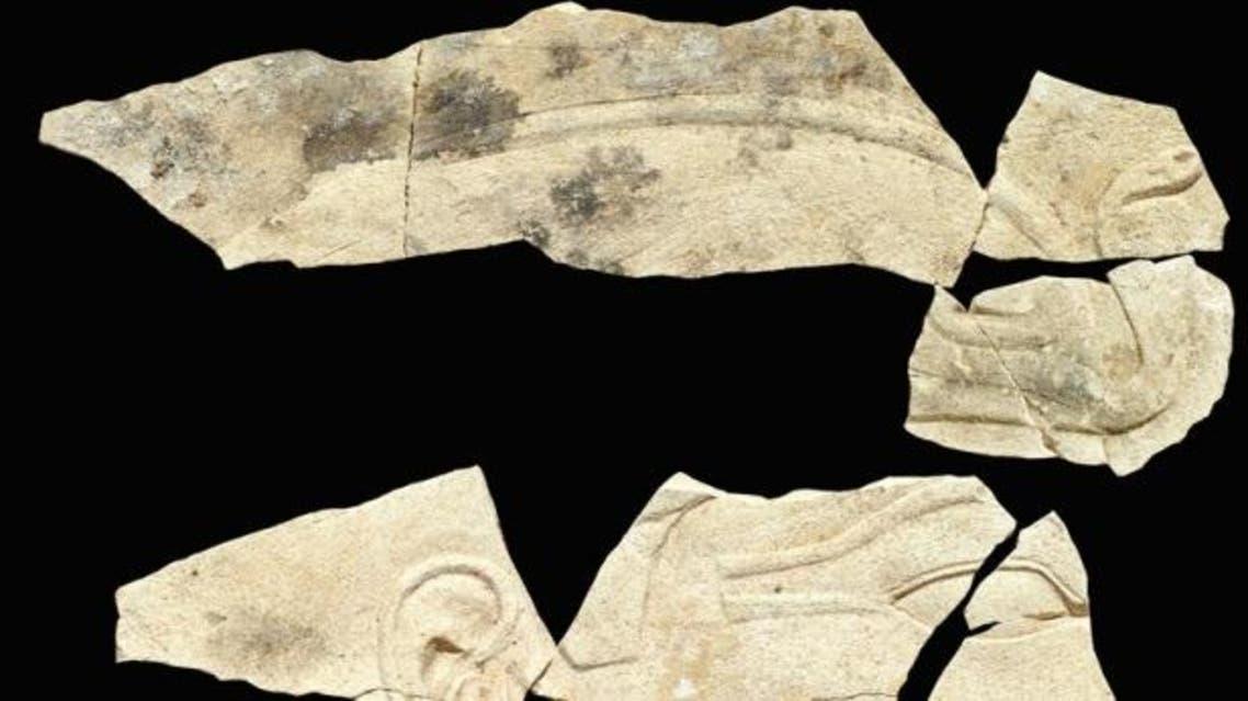 جانب من المكتشفات الاثرية الفرعونية